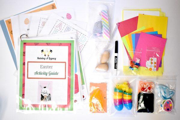 Easter Box Supplies