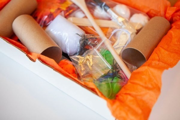Halloween Legacy Box close up