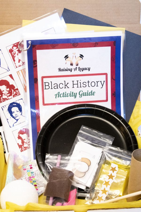 Black History Box Close Up