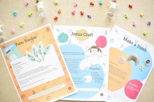 Easter Guide Religious three pages