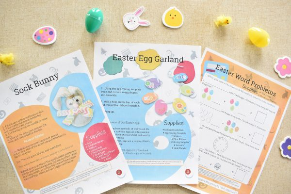 Easter Guide three pages