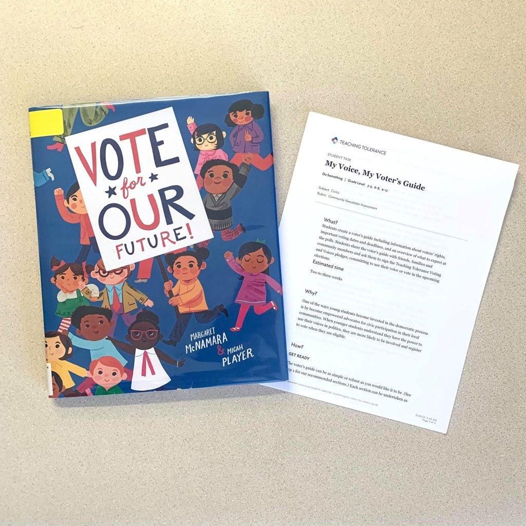 vote for our future book
