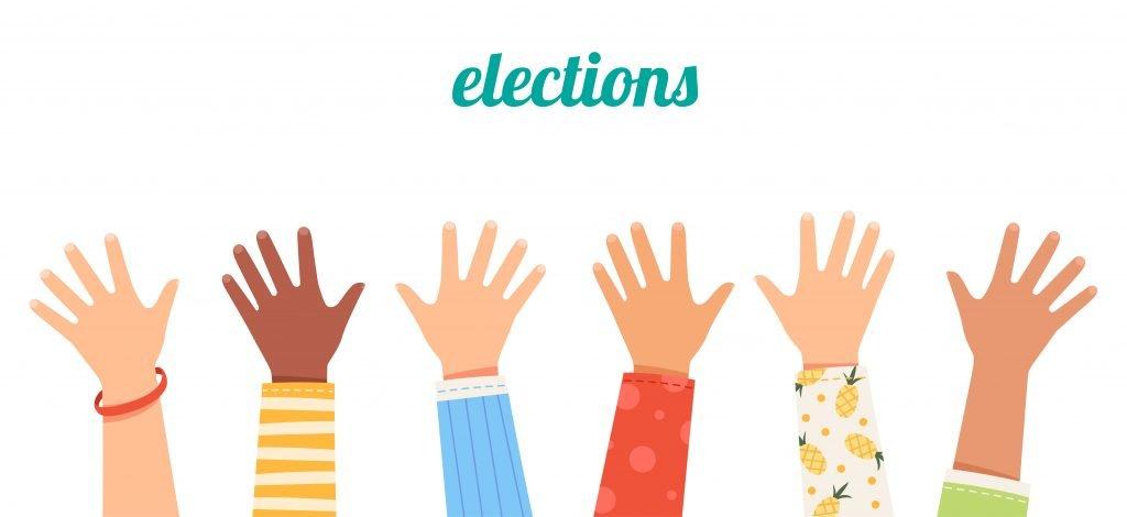 election - kids hands