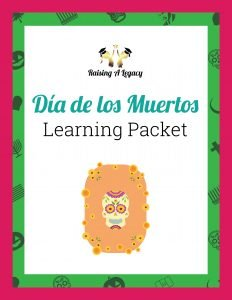 Dia de los Muertos Learning Packet_Cover