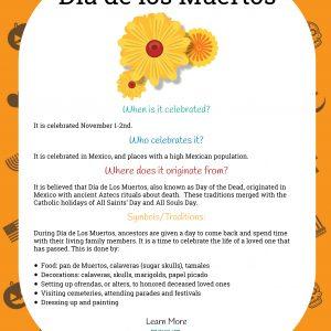 Dia de los Muertos Learning Packet