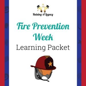 Fire Prevention Week Learning Packet