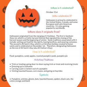 Halloween Learning Packet