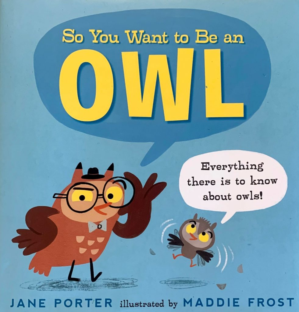 so you want to be an owl book